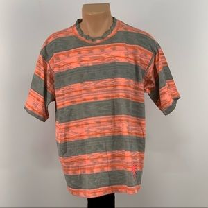 Vintage Gotcha Striped T-shirt